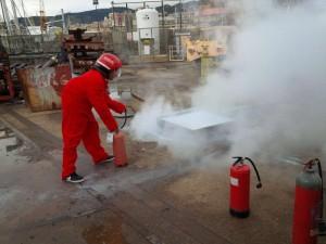 Prove pratiche corso antincendio
